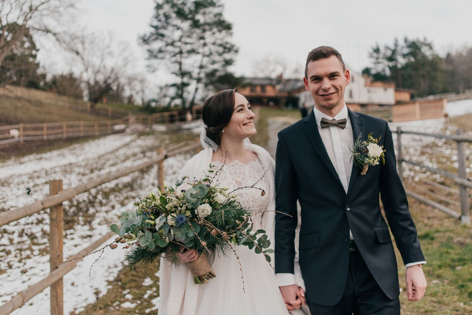 Alzbeta A Ondrej Kouzlo Zimni Svatby Pribehy Odted Naporad